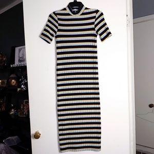 NWOT Zara long thin sweater dress